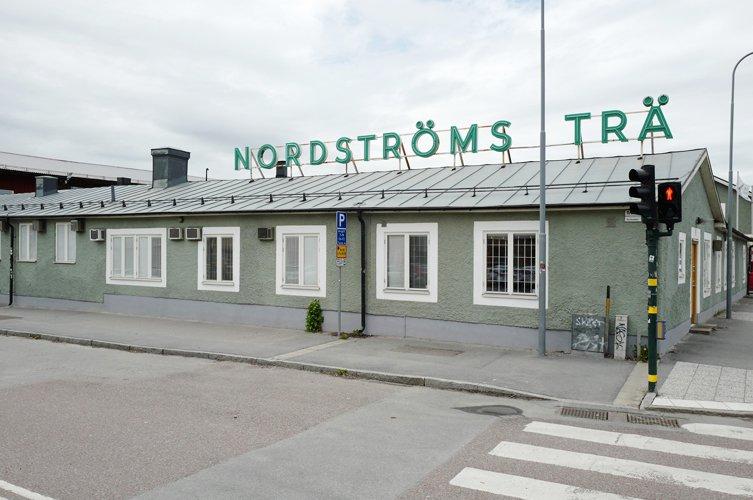 Nordströms Trä nybygger kontor med hjälp av Byggmästargruppen.