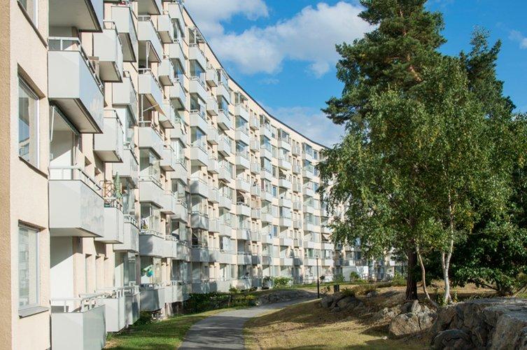 Brf Emaljeraren renoveras av Byggmästargruppen 2016-2018.