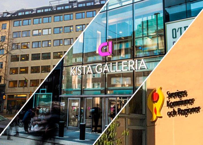 Sveavägen 59, Kista Galleria och Kv Överkikaren tre nya projekt för Byggmästargruppen.