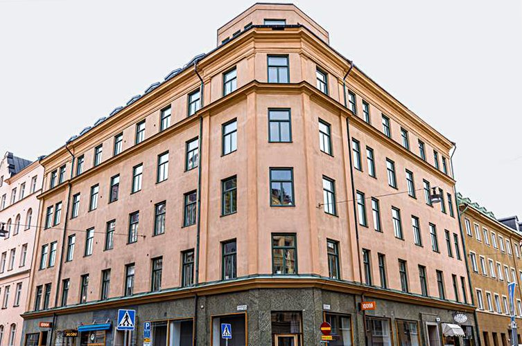 Kv Brandmästaren 18 totalrenoveras av Byggmästargruppen.