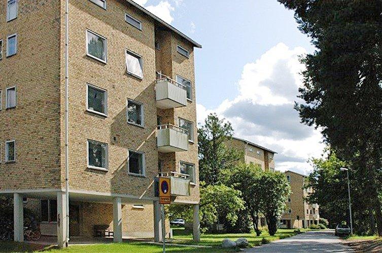 Värmdöbostäder Hästhagen renoveras av Byggmästargruppen.