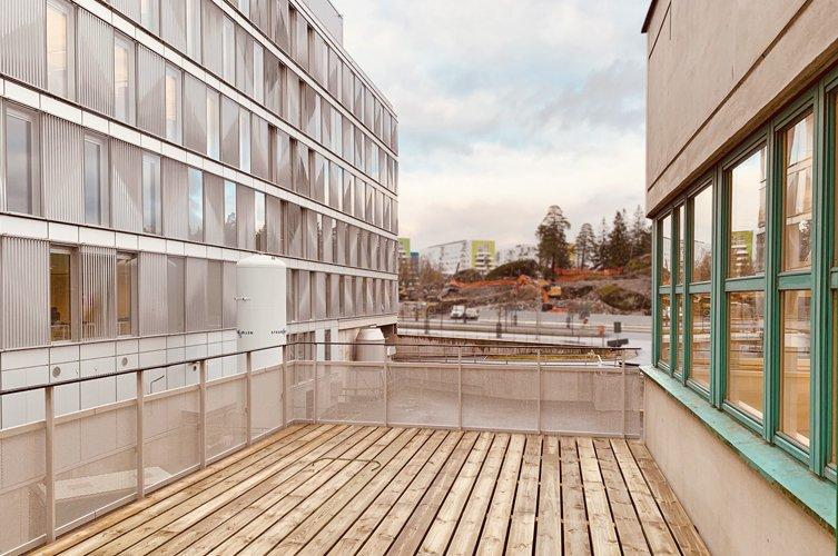 Novum Rehabmottagning på Danderyds sjukhus byggs av Byggmästargruppen.