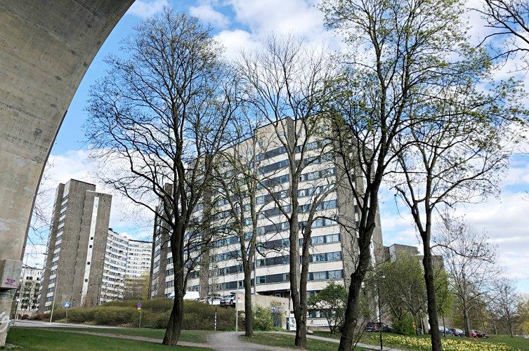 Byggmästargruppen stambyter åt Brf Tanto Stockholm 2018-2021.