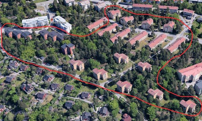 Byggmästargruppen renoverar Gamla Hästhagen i Gustavsberg bestående av 19 fastigheter med sammanlagt 203 lägenheter.