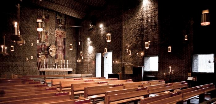 Byggmästargruppen bygger om Markuskyrkan och tillhörande kanslibyggnad för Skarpnäcks församling.