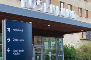 Byggmästargruppen anpassar dialysavdelning på Rosenlunds sjukhus.
