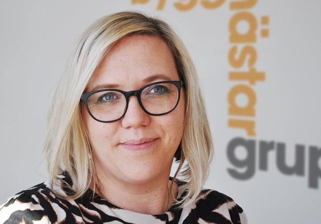 Therese Westlund är byggingenjör och ansvarig för partnering på Byggmästargruppen.