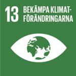 Hållbarhetsplan - Globala målen, mål 13 - Bekämpa klimatförändringarna.