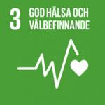 Hållbarhetsplan - Globala målen, mål 3 - God hälsa och välbefinnande.