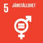 Hållbarhetsplan - Globala målen, mål 5 - Jämställdhet