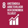 Globalt mål 8 - Arbetsvillkor